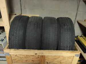 4 Used Michelin Tires