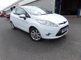 Ford Fiesta 1.25 ( 82ps ) 2010.5MY Zetec Petrol White 47k History 2 Owners