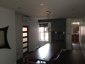 Fully furnished, recently renovated lower duplex in NDG. Garage