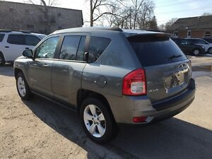 2012 JEEP COMPASS SPORT/NORTH * 4WD * LOW KM * $0 DOWN LOANS London Ontario image 4