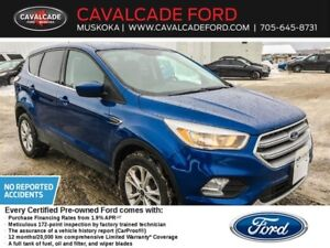 2017 Ford Escape SE AWD 1.9%/72 FORD CERTIFIED PREOWNED
