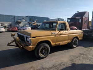 1978 FORD BRONCO PICK-UP 4x4