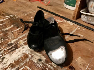 For sale: 2 pairs of dance shoes. 1 Tap, 1 Jazz