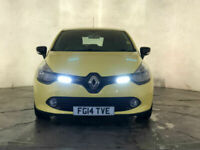 2014 RENAULT CLIO EXPRESSION ENERGY DCI CRUISE CONTROL £0 ROAD TAX SVC HISTORY