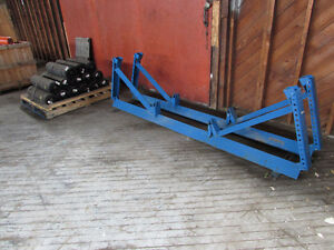 Blue Conveyor Idler Frames