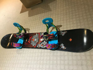 Burton Snowboard (Shaun White), with bindings and boots