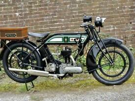A true Piece of motorcycling herritage, this 1925 BSA S25 IS STUNNING