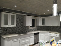 Profesional Kitchen/Bathroom BACKSPLASH Tile Installation $179
