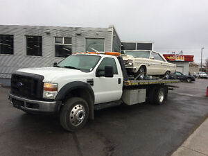 Towing service West Island, Montreal, Laval 514 575-1444