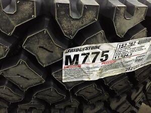 New 11r24.5 drive tires Bridgestone M775