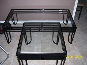 coffee table, chairs, end tables, mirror, hitch, BB/Pellet