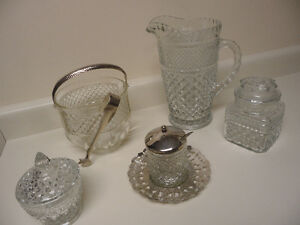 WEXFORD GLASSWARE by Anchor Hocking