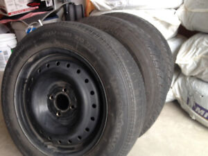 90% new  P185/65R15 86H M+S