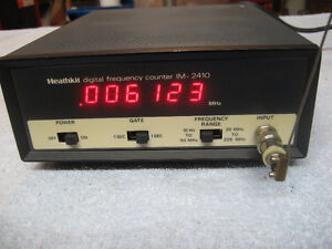 Heathkit DIGITAL FREQUENCY COUNTER  IM-2410