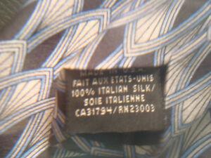 Pierre Cardin Paris 100% Silk Neck Tie Dark & Light Blue Peterborough Peterborough Area image 4