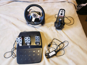 Logitech g25 racing package and windows mixed reality headset