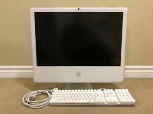 "Apple 24"" iMac Late 2006 256GB FAST SSD! 2.16 GHz Intel 4GB"