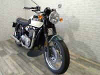 2018 (68) TRIUMPH T120 BONNEVILLE WITH ONLY 69 MILES FROM NEW
