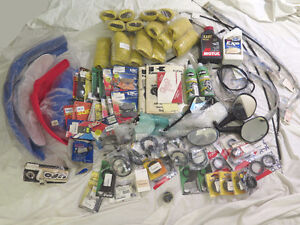 Lot of Misc. Motorcycle Parts - New - Universal etc