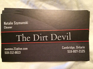 The dirt devil cleaning Cambridge Kitchener Area image 1