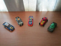 MATCHBOX and HOT WHEELS Collectable Cars, QTY = 5
