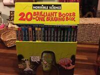 HORRIBLE SCIENCE BOOK BOX SET