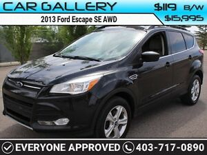2013 Ford Escape SE AWD w/BackUp Cam $/119B/W YOU'RE APPROVED-QU