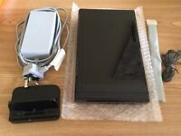 nintendo wii u 32gb premium PAL UK CONSOLE ONLY with power cables , hdmi -- NO GAMEPAD INCLUDED --