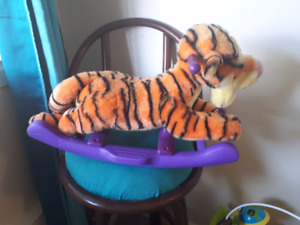 Tigger rocker (plays music)