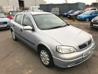 Vauxhall Astra Envoy 1.7 DTI 5 Door Hatchback, 12 Month Mot, 3 Month Warranty