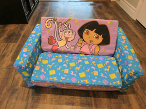 Dora & Boots Plush Couch/Bed