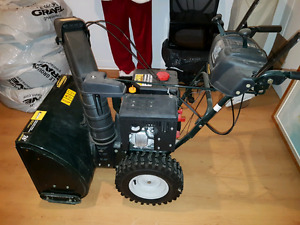 Barely used very good condition SnowBlower!! Negotiable