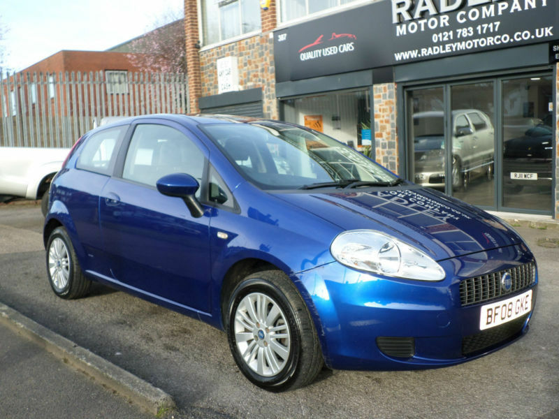 2008 fiat grande punto 1 2 dynamic 3dr 08 reg petrol blue in sheldon west midlands gumtree. Black Bedroom Furniture Sets. Home Design Ideas