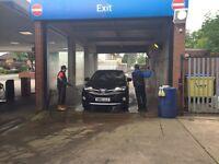 Hand car wash worker needed