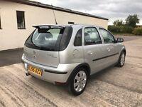 2005 (55) Corsa 1.2 SXI, 12 months mot, 3 months warranty, cards accepted