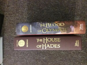 Rick Riordan  The Heroes of Olympus books