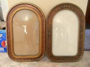 ANTIQUE FRAMES WITH CURVED GLASS X 4 Youngtown Launceston Area Preview