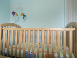 First hand baby crib and playpen for sale