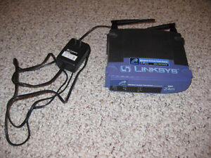 Linksys 2.4GHz Wireless Access Point Router 4-Port Switch Kitchener / Waterloo Kitchener Area image 1