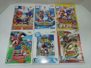Nintendo Wii mario sports games for sale