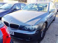 **SATNAV+1LADYOWNR** BMW 730D SE AUTO + F/BMW/ SHISTORY + LONG MOT + SATNAV/LEATHERS/XENONS+ IMMACUL