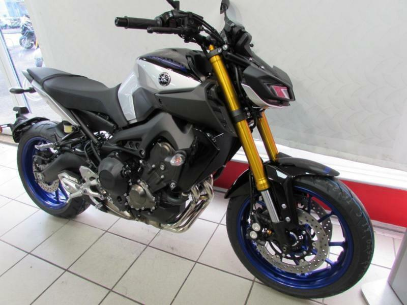 YAMAHA MT-09 SP WITH OHLINS REAR SHOCK, ADJUSTABLE FRONT FORKS  SPECIAL  EDITION  | in Wigan, Manchester | Gumtree