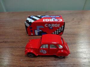 Corgi 1985 Die-Cast, Citroen  2cv6, neuf