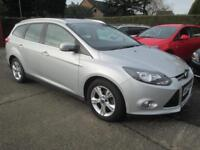 2013 Ford Focus Estate 1.6 Tdci 115 Zetec Silver