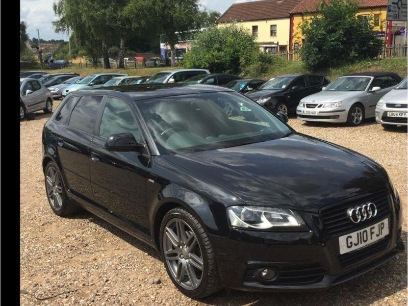 2010 audi a3 2 0 tdi black edition sportback 5dr in norwich norfolk gumtree. Black Bedroom Furniture Sets. Home Design Ideas