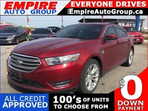 2013 FORD TAURUS SEL * AWD * LEATHER * NAV * SUNROOF