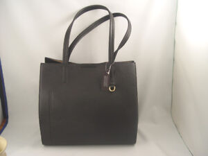 New Italian Leather Black Shoulder Bag Purse Banana Republic