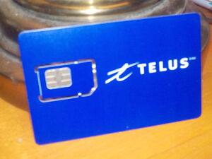 NEW TELUS SIM CARD