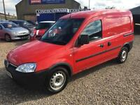 2007 VAUXHALL COMBO 1700 1.3CDTi 16V VAN 1 OWNER FSH NEW CLUTCH FITTED
