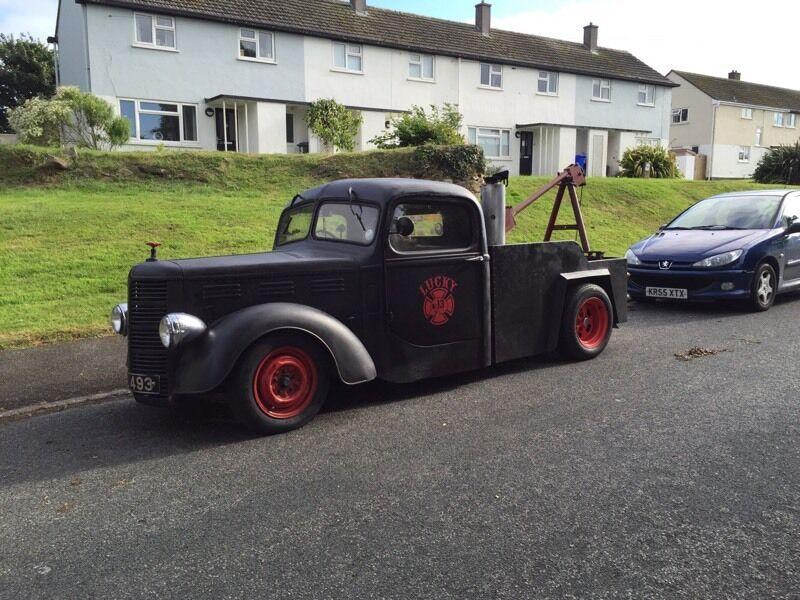1943 Bedford British rat rod hot rod wrecker pick up truck 12 ...